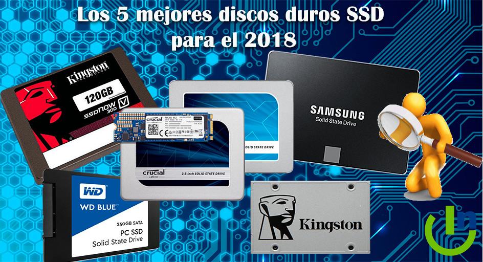 Los Mejores discos duros SSD para el 2018